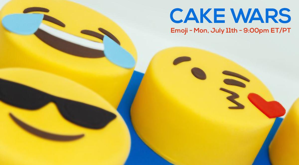 Emoji Cake Wars Banner