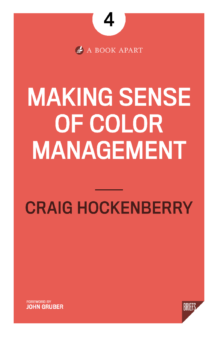 Making Sense of Color Management Book Cover