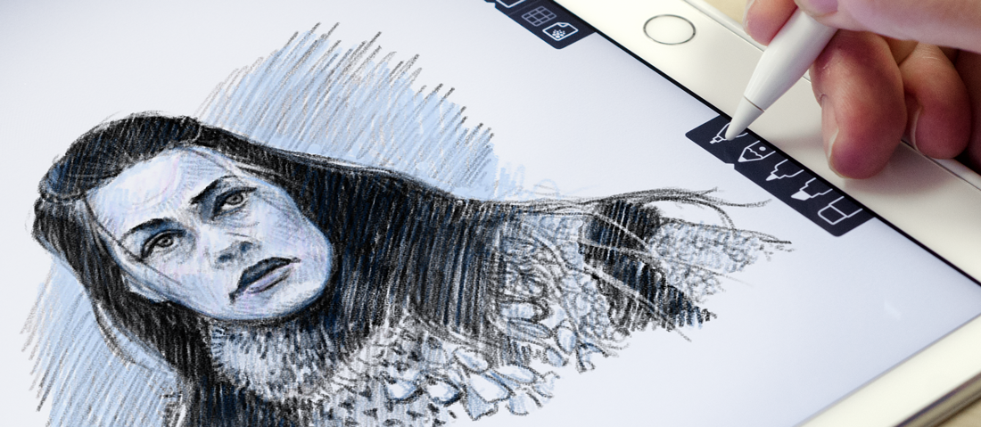 Iconfactory's Linea sketching app for iPad
