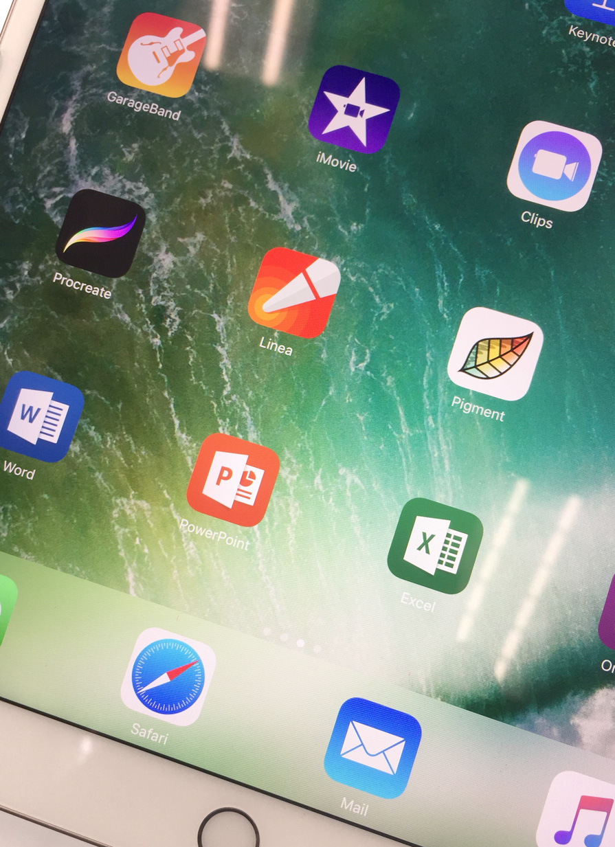 Linea Demo running on new iPad Pro hardware