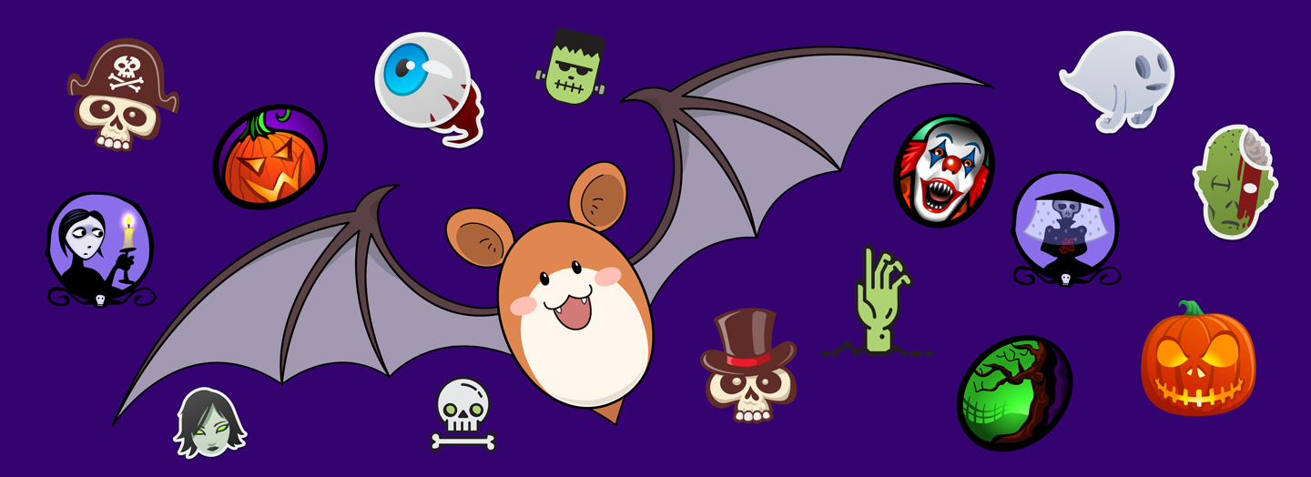 A spooky selection of our iMessage sticker packs and wallpapers