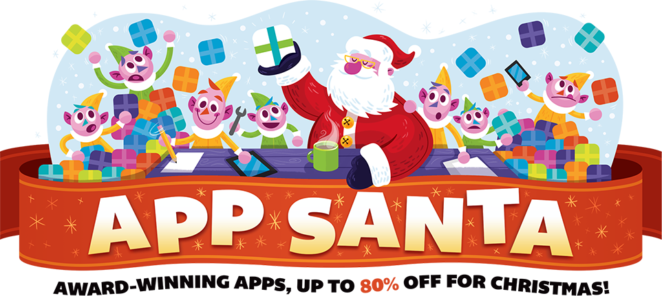 Save on great Indie Apps this Christmas with App Santa