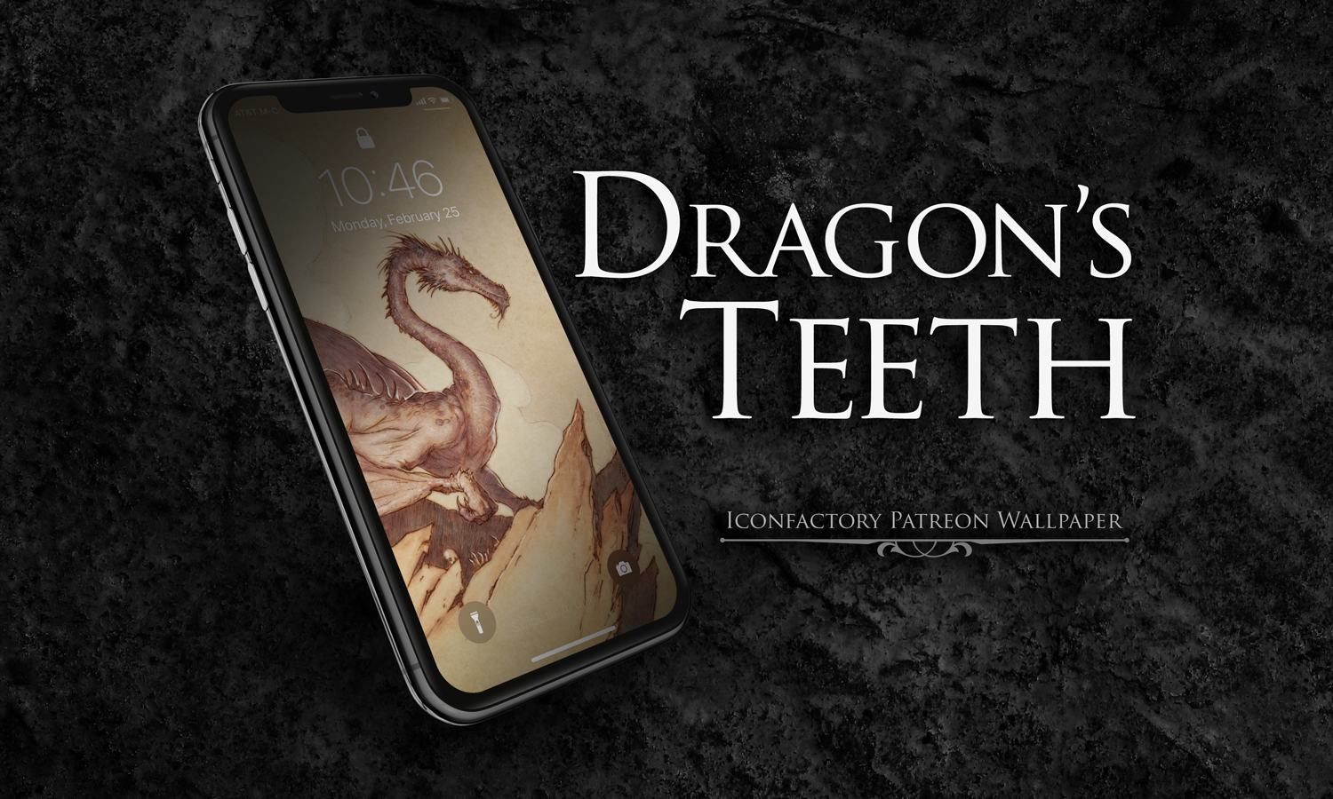 Dragons Teeth Wallpaper