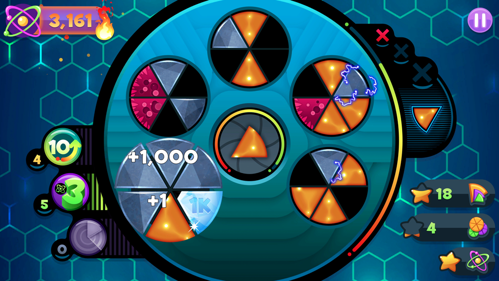 Frenzic's fast-paced puzzles are a blast for players of all ages